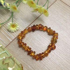 Amber Citrine Bracelet